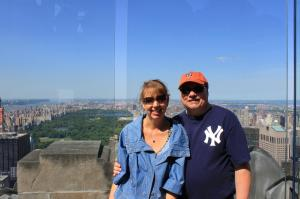 Top of the Rock, after going on the Rockefeller Ce..._5488588043851614046_Photo
